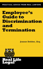 Employee's Guide to Discrimination and Termination