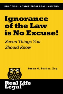 Ignorance of the law is no excuse_cover_book
